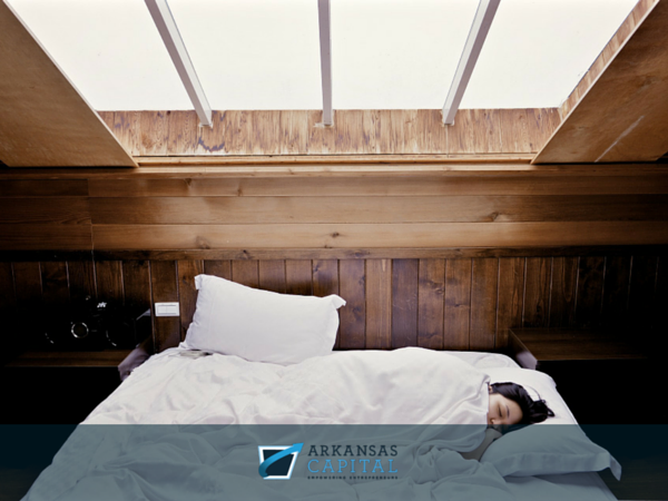sleep when starting a small business