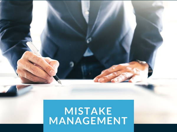 Secrets to Managing Your Business Mistakes | Arkansas Capital Corp.